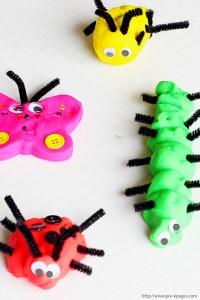 10 maneiras de brincar de massinha - fazer bichinhos