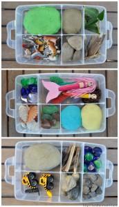 10 maneiras de brincar de massinha - kits tematicos