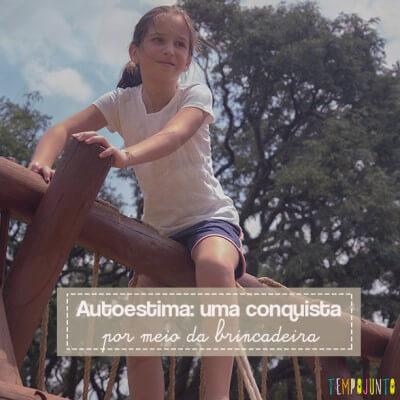Como aumentar a autoestima das crianças com as brincadeiras