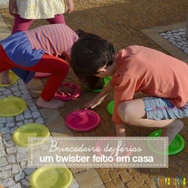 Brincadeira para as férias: faça em casa o jogo do Twister