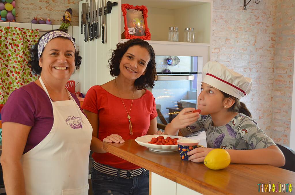 Um mimo para as férias das crianças - Tempojunto na Cozinha com Madame Aubergine - carol, pat e marisa