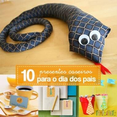 10 presentes feitos em casa para o Dia dos Pais