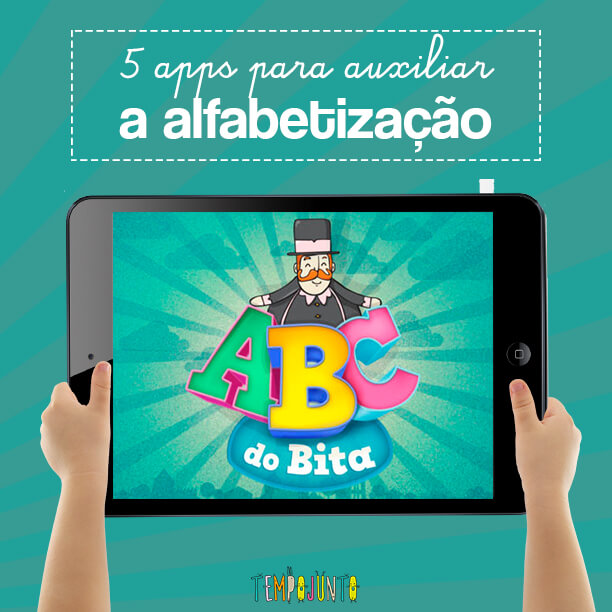 5 apps que auxiliam a alfabetização - capa
