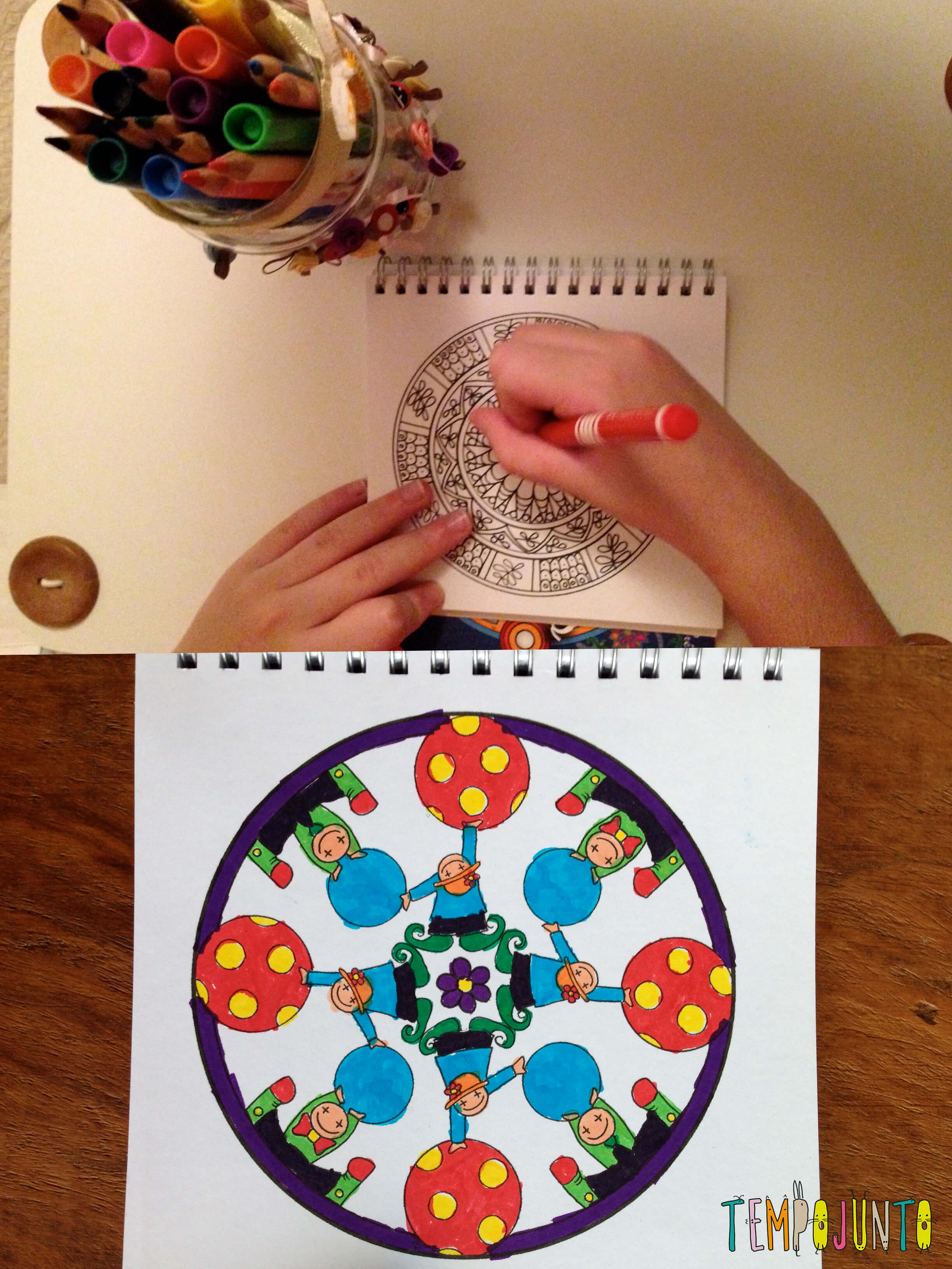 Zentangle - mandalas
