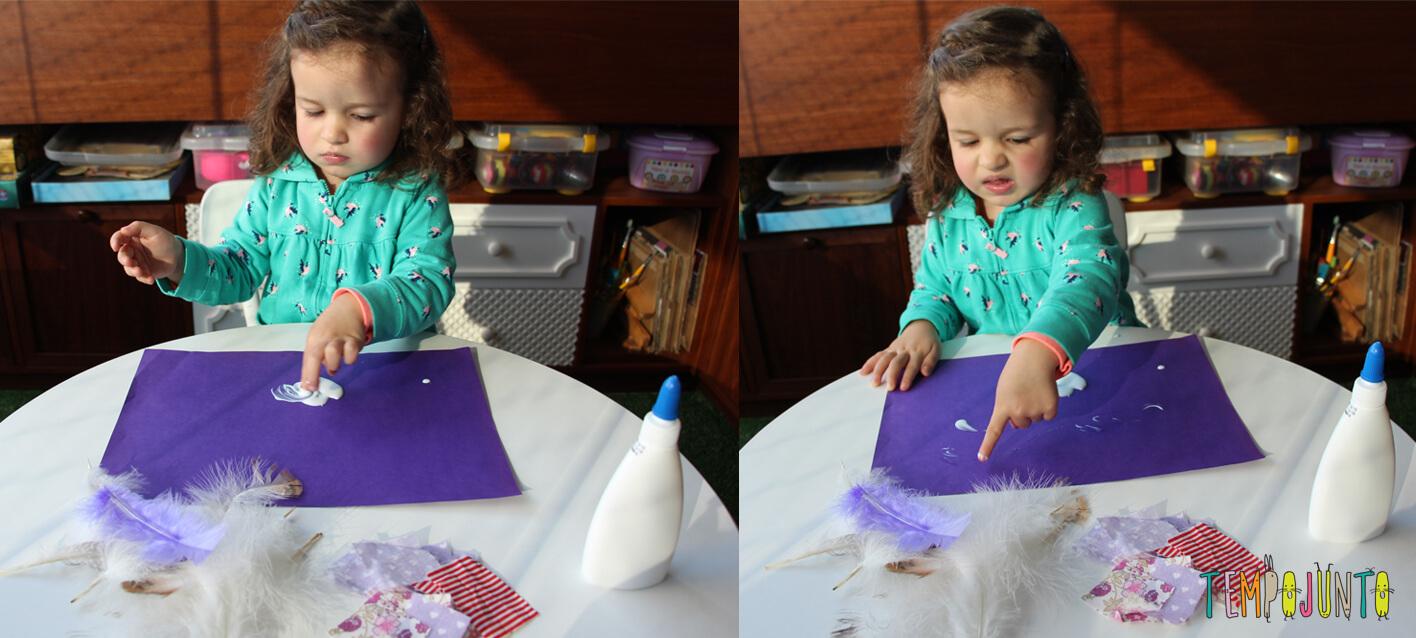 Arte para crianças pequenas colagem - img_6946 6948