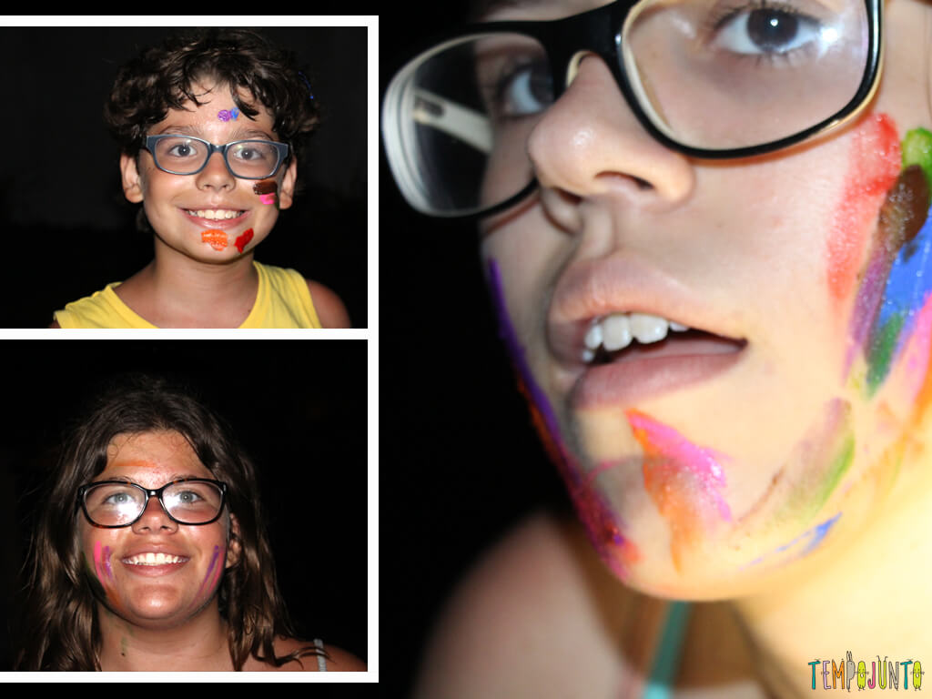 Como brincar de Canibal, diversao garantida para o Halloween_6-IMG_4224_IMG_4225_IMG_4226_Montagem rosto crianças pintadas