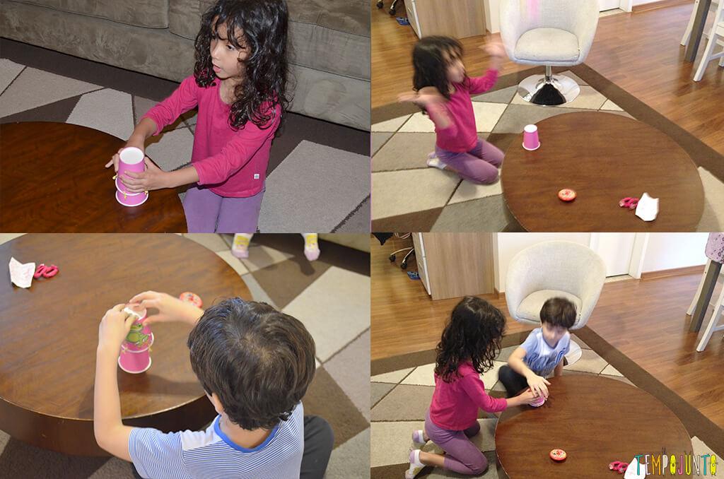 Interação total com as brincadeiras quando se tem entre 3 e 5 anos - criancas brincando