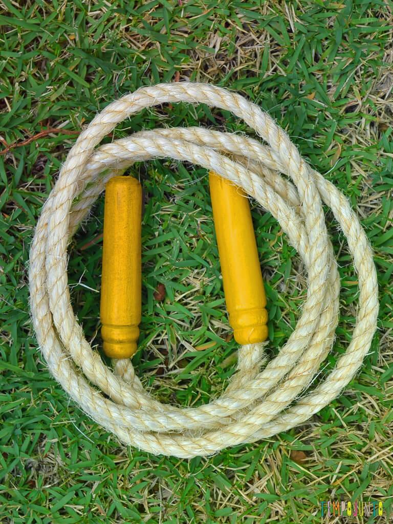Pular corda para reforcar o vInculo com seus filhos_CORDA