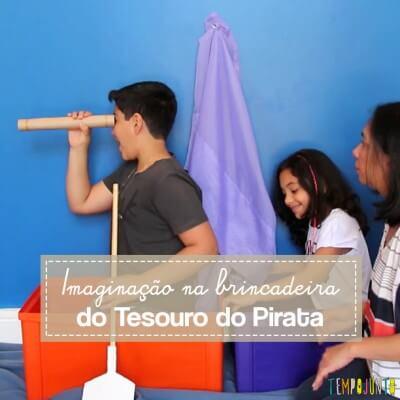 Deixar a imaginação solta com uma boa brincadeira de pirata