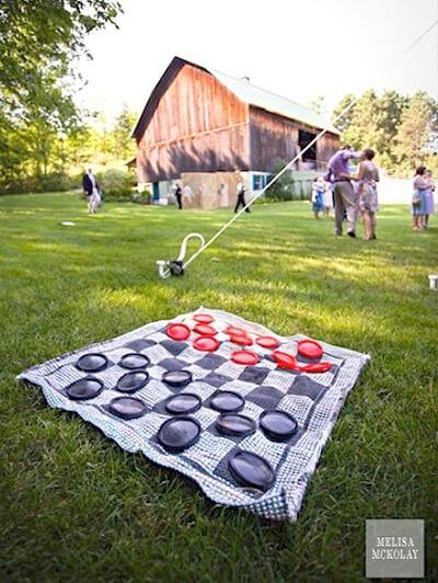 10 dicas de brincadeiras para fazer no quintal - damas gigante