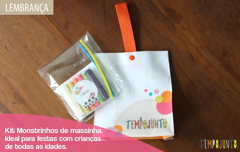 Kit Monstrinhos de Massinha Image