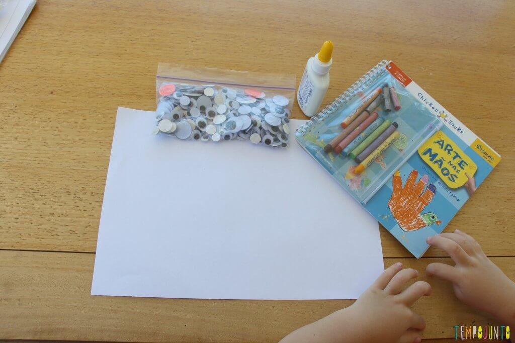 Como fazer desenho com as mãos - comecando o desenho