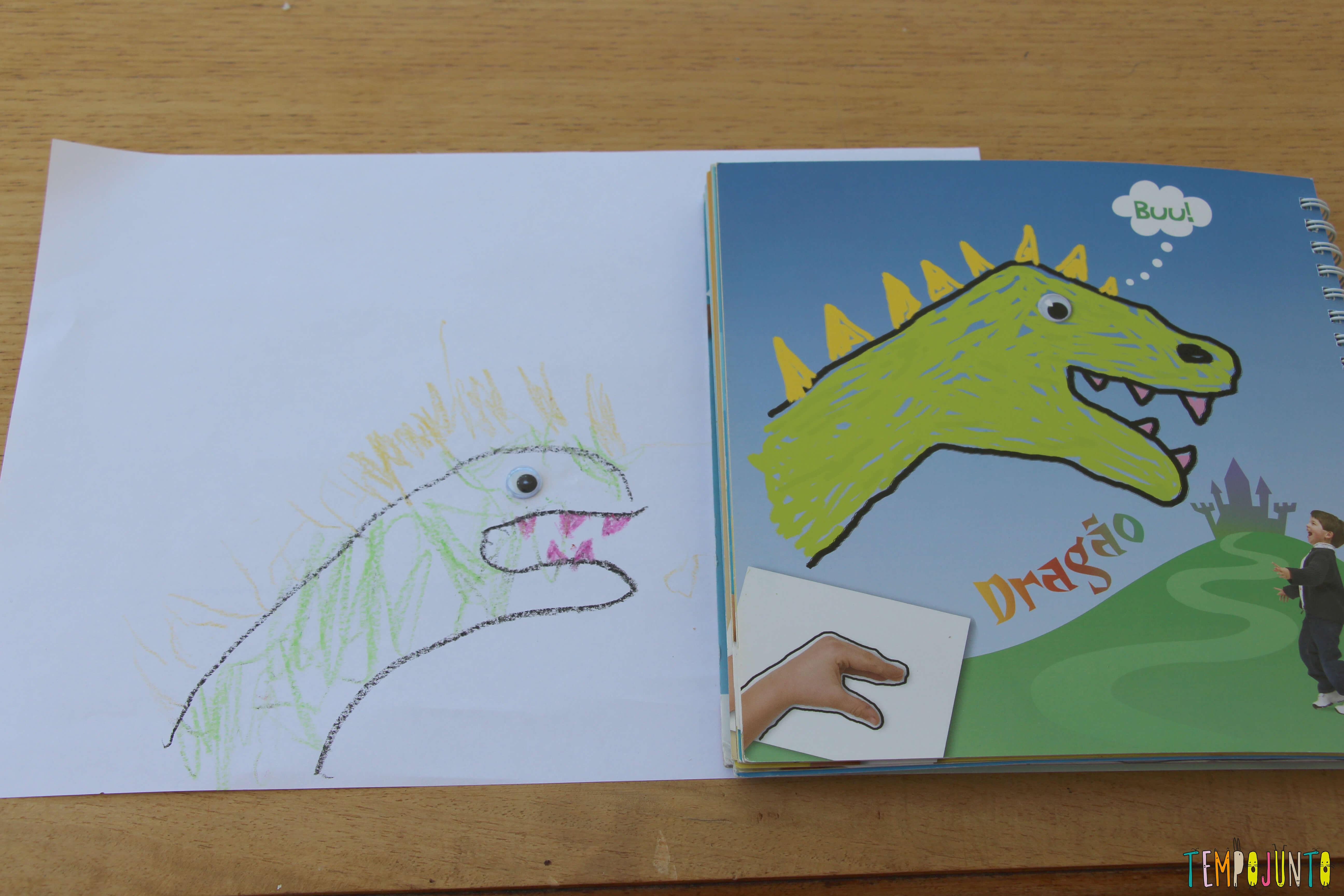 atividades de artes para crianças com desenho com as mãos