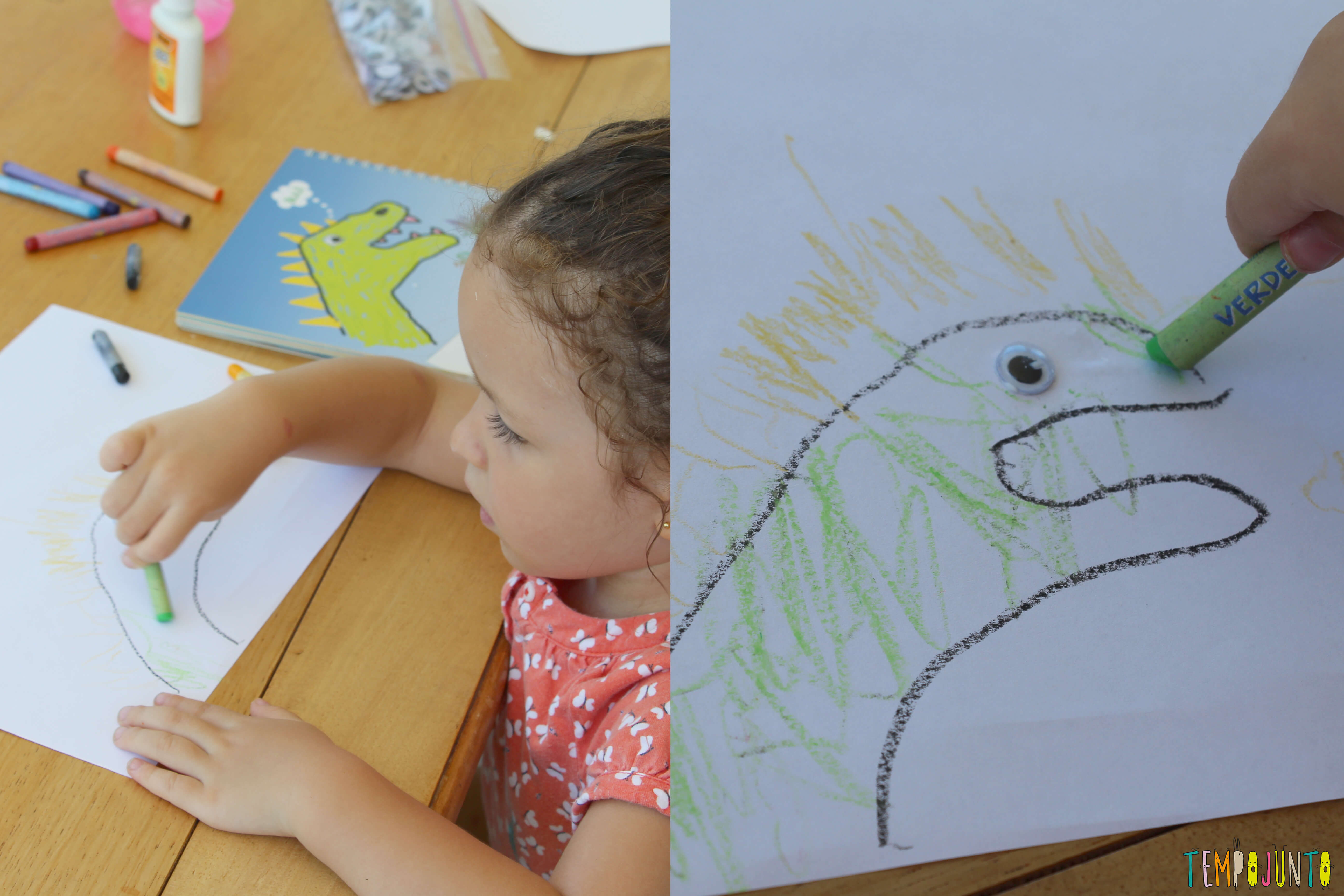 Como Fazer Desenho Com As Mãos Tempojunto Aproveitando