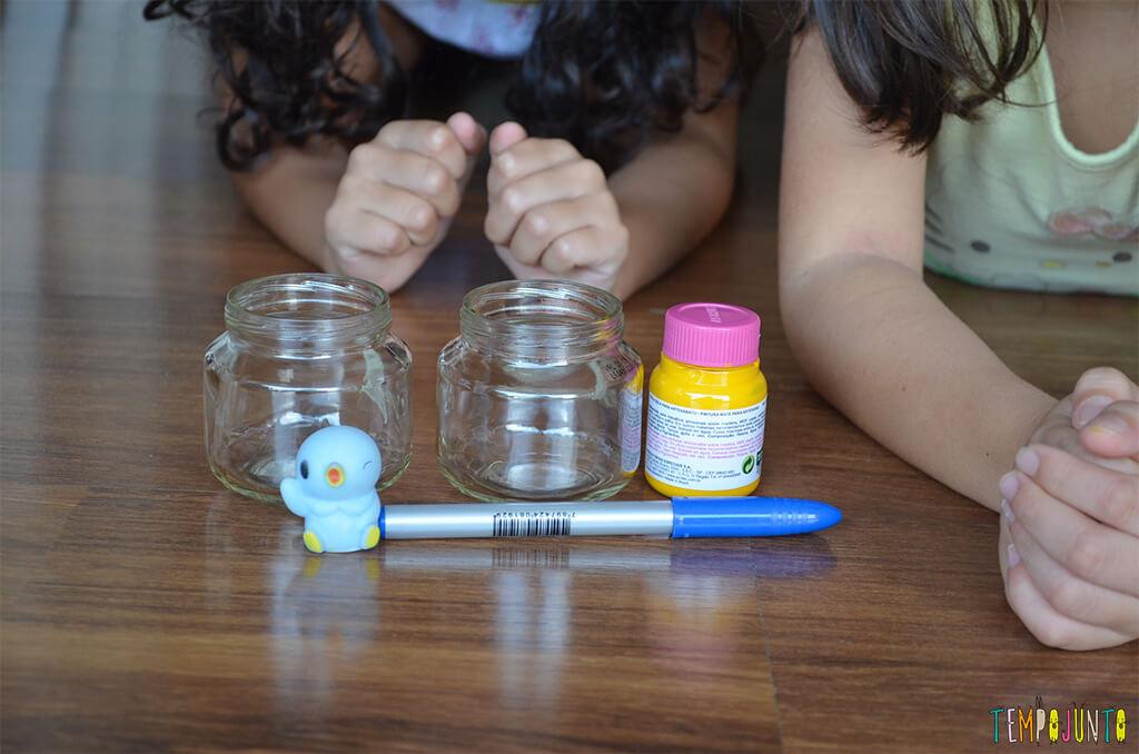 Um porta-treco com cara de Lego simples de fazer - materiais