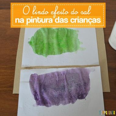 Arte com ingredientes de cozinha para crianças pequenas