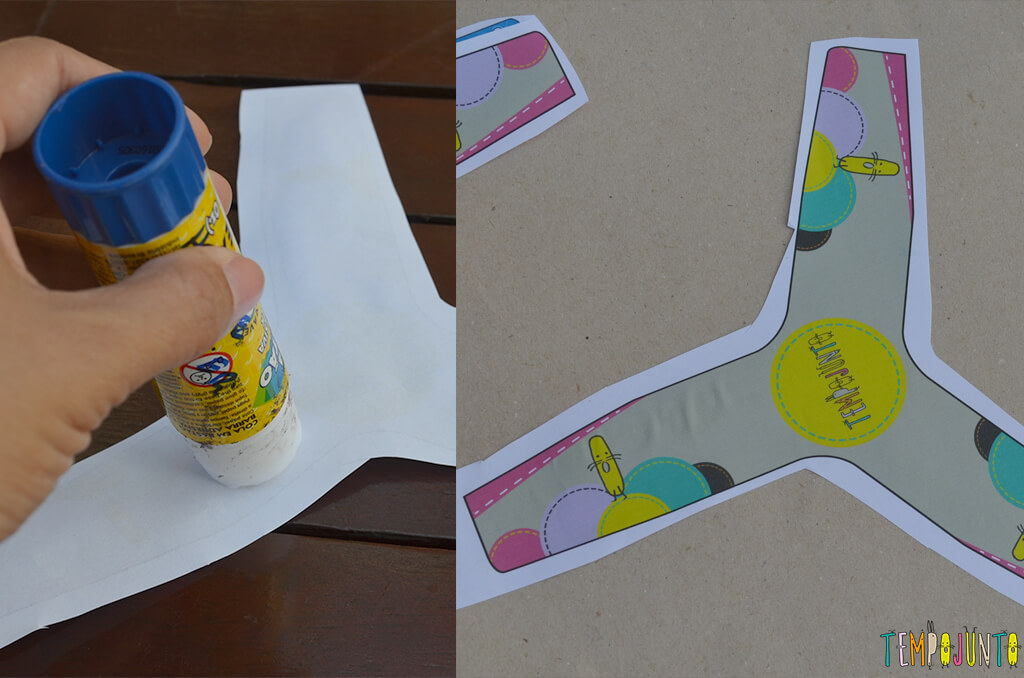 Boomerang - colando no papelao