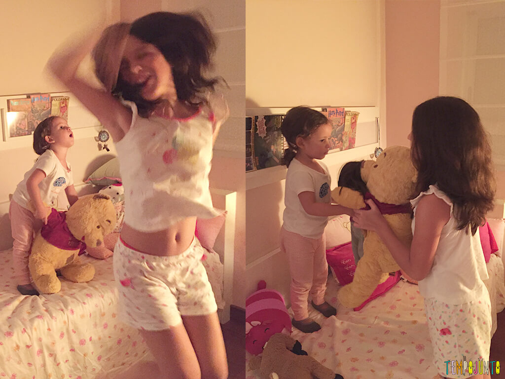 brincadeiras para fazer no quarto balada das meninas