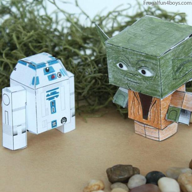 10 ideias de brinquedos caseiros faceis de fazer - bonecos star wars