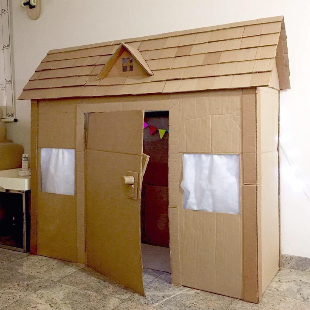 Voce no Tempojunto Fernanda Nichii - casinha pronta