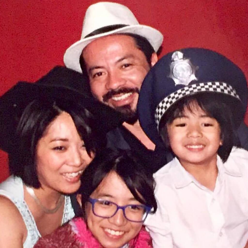 Voce no Tempojunto Fernanda Nichii - foto da familia nichii