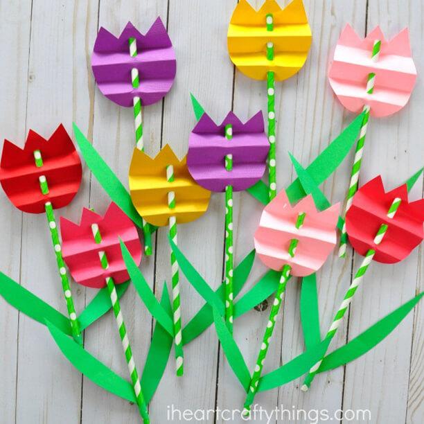10 ideias de presente dia das maes - buque de tulipas