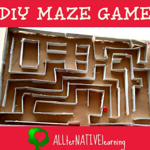10 maneiras de fazer labirintos - labirinto