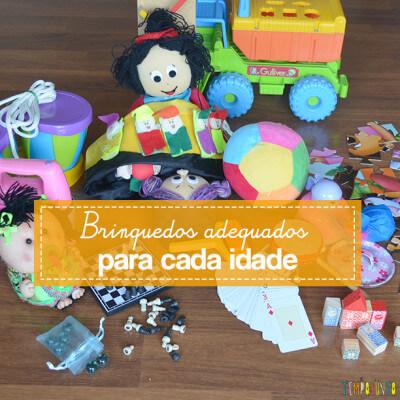 Que brinquedos os seus filhos precisam ter?