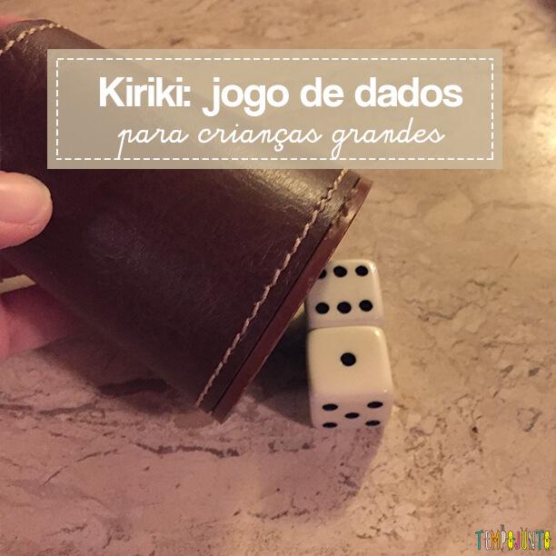 Kiriki: jogo de dados para crianças grandes