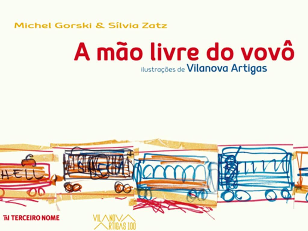 Leitura brincante com a autora Silvia Zatz - livro a mao livre do vovo