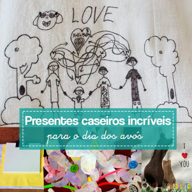 10 ideias criativas de presentes para o Dia dos Avós