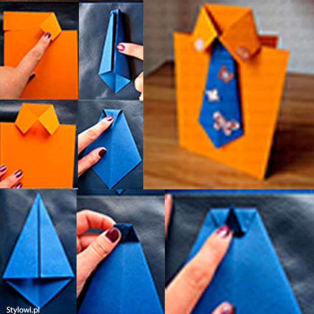 10 ideias criativas de presentes para o Dia dos Pais - cartao de gravata