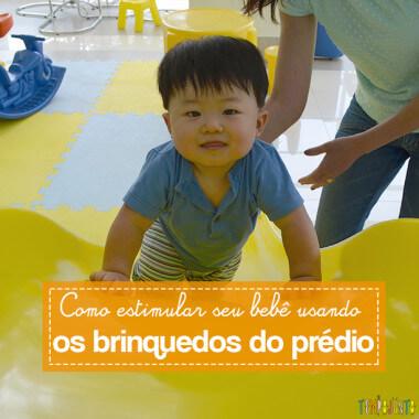 Como montar um circuito de brincadeiras para seu bebê