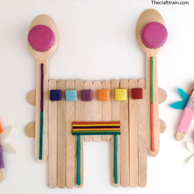 10 maneiras diferentes de criar um castelo para as crianças - castelo de palito de picole