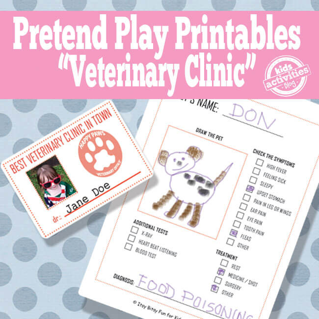 10 maneiras divertidas de brincar de profissões_printable_veterinario