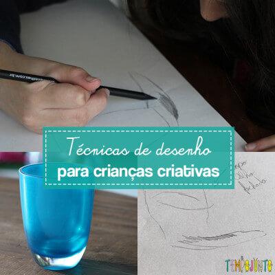Brincadeira para ensinar a criança a desenhar