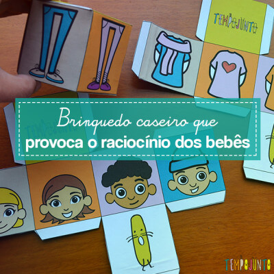 Blocos de montar renovados para brincar e desenvolver o raciocínio do seu bebê