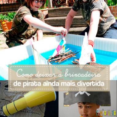 10 ideias criativas para brincar de pirata