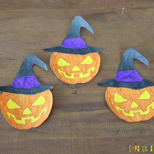 Como decorar uma festa de Halloween - parte 2 - abobora desenhada