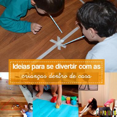 10 brincadeiras para espaços pequenos