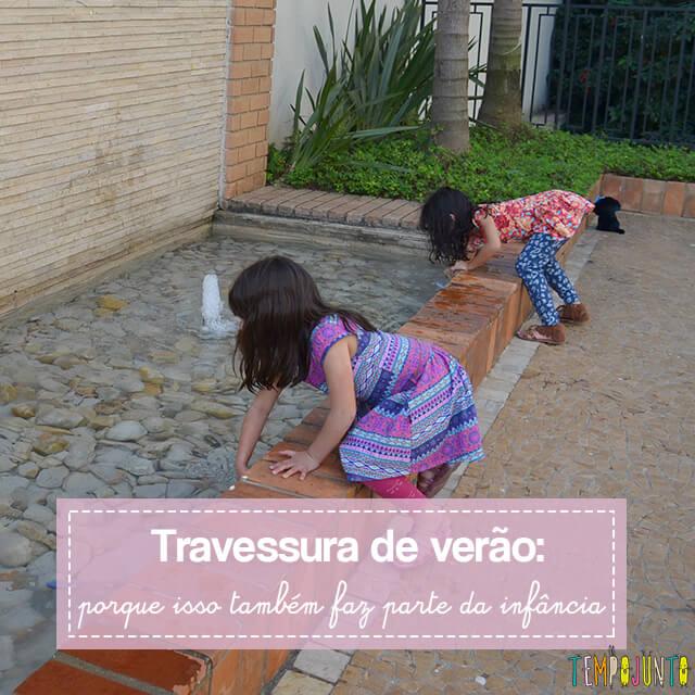 Como brincar com uma traquinagem de forma segura com as crianças
