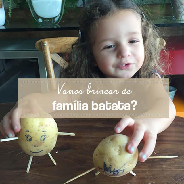 Como fazer bonecos de batata