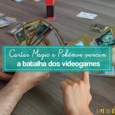 Jogo de cartas que supera o jogo do videogame