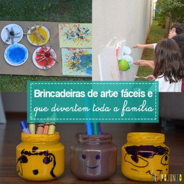 Artes para crianças simples e criativas – retrospectiva 2017