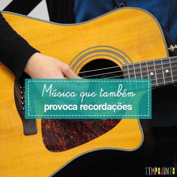 Aproveitar a música para brincar de memórias