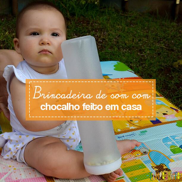 Brinquedo caseiro para despertar a atenção e a curiosidade do seu bebê