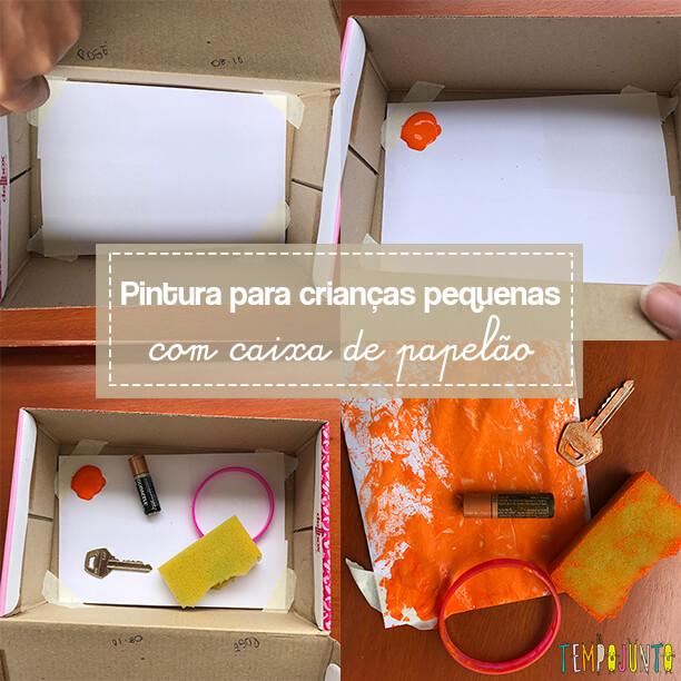 Uma forma inusitada de pintar com crianças pequenas: caixa de Pandora