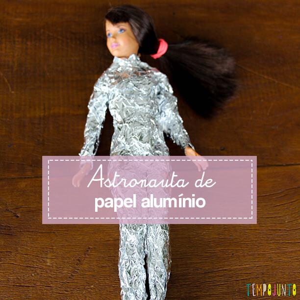 Como fazer uma boneca astronauta