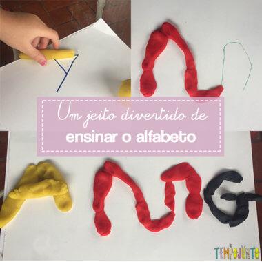 Como ensinar o alfabeto de forma lúdica