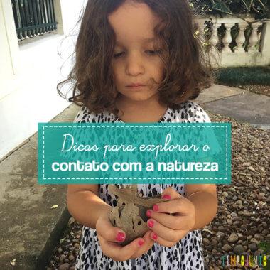 Explorar a natureza: uma ótima atividade para as crianças